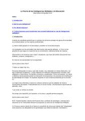 la teoría de las inteligencias múltiples y la educación.doc