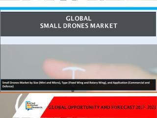 Small Drones Market.pdf