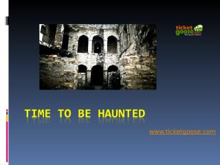 Time to be Haunted.ppt