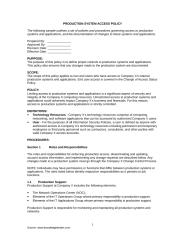 Production System Access Policy.doc