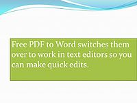pdf to word.wmv