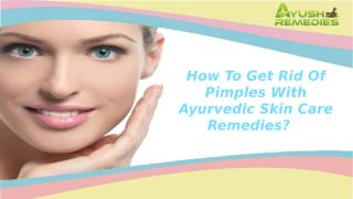 how to get rid of pimples.pptx