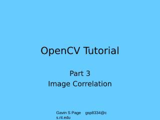 OpenCVTutorial_III.ppt