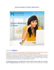 Online Pharmacy in India- Medixpres.pdf