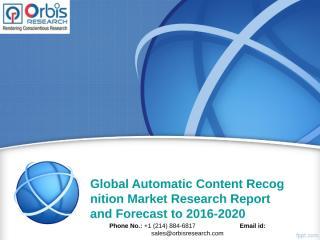 Global Automatic Content Recognition Market.ppt