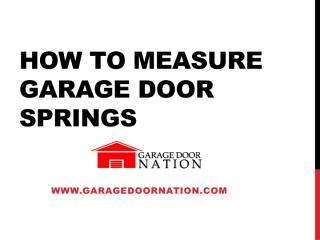How to measure Garage Door springs.pdf